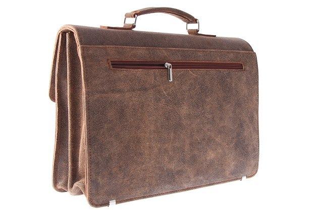 Teczka Vintage URBAN ATS167 BROWN