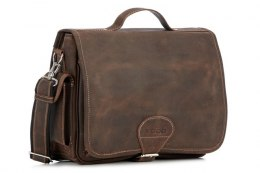 Casualowo-biznesowa torba RDW14 BROWN